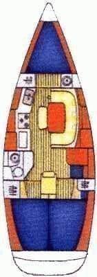 Jeanneau Sun Odyssey 36.2 (Xristina) Plan image - 9