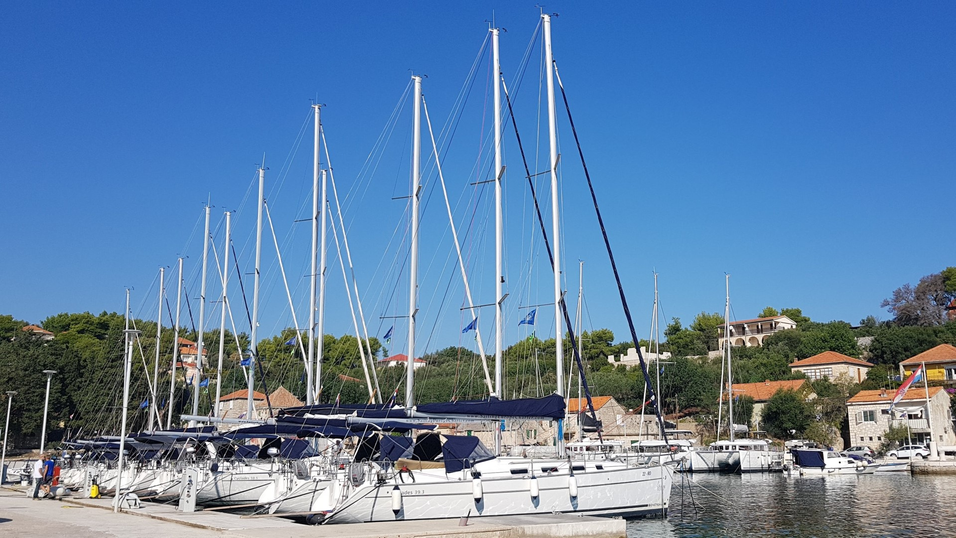 Lagoon 400 (GREENLAND) Marina Rogač - sailboats (photo taken 2019) - 6