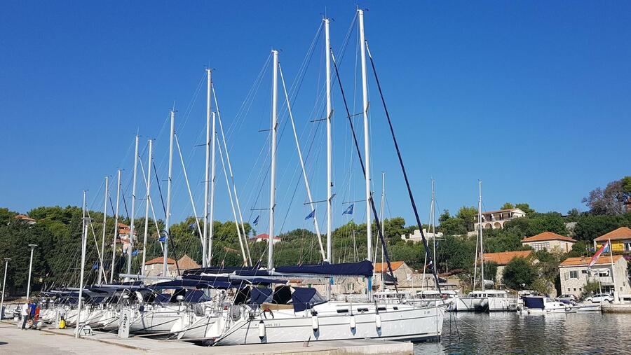Sun Odyssey 449 (Tortuga) Marina Rogač - sailboats (photo taken 2019) - 4