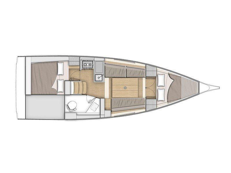 Oceanis 30.1 (Nyx) Plan image - 3