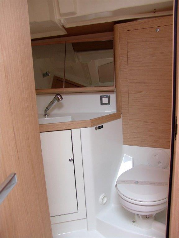 Oceanis 46.1 (Everest) Interior - toilet - 1