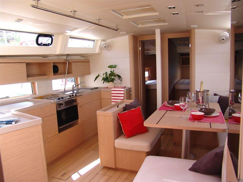 Oceanis 46.1 (Everest) Interior - saloon - 14
