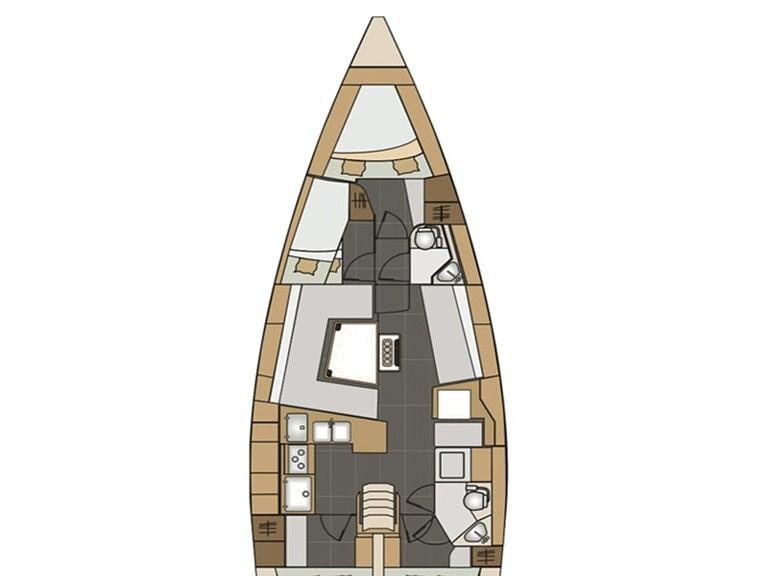 Elan Impression 45 (El45) Plan image - 1