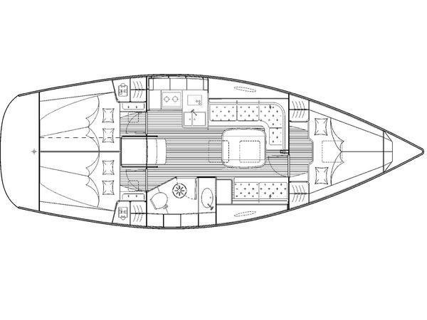 Bavaria 35 C (MH 25) Plan image - 7