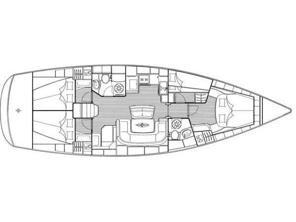 Bavaria 46 C (MH 20) Plan image - 3