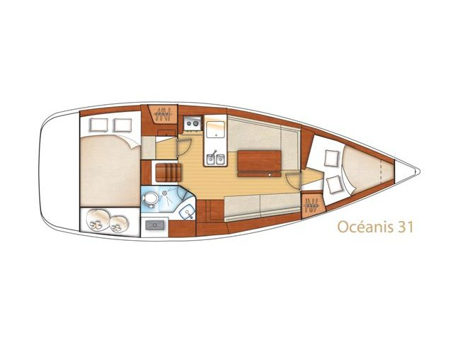 Oceanis 31 (BUDDY) Plan image - 10
