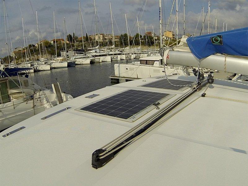 Leopard 38 (Adamus (Solar panel)) Leopard 38 catamaran - 7