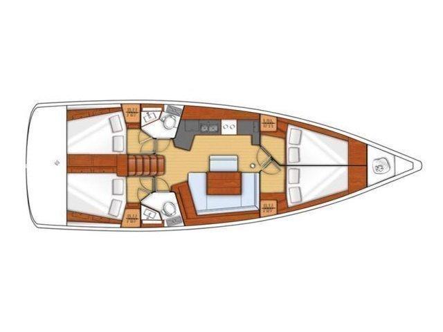 Oceanis 45 (Stella) Plan image - 1