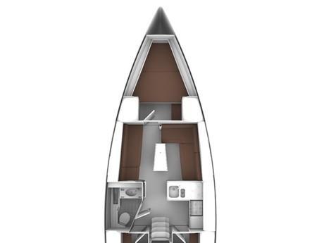 Bavaria Cruiser 37 (Bavaria Cruiser 37 '20) Plan image - 1