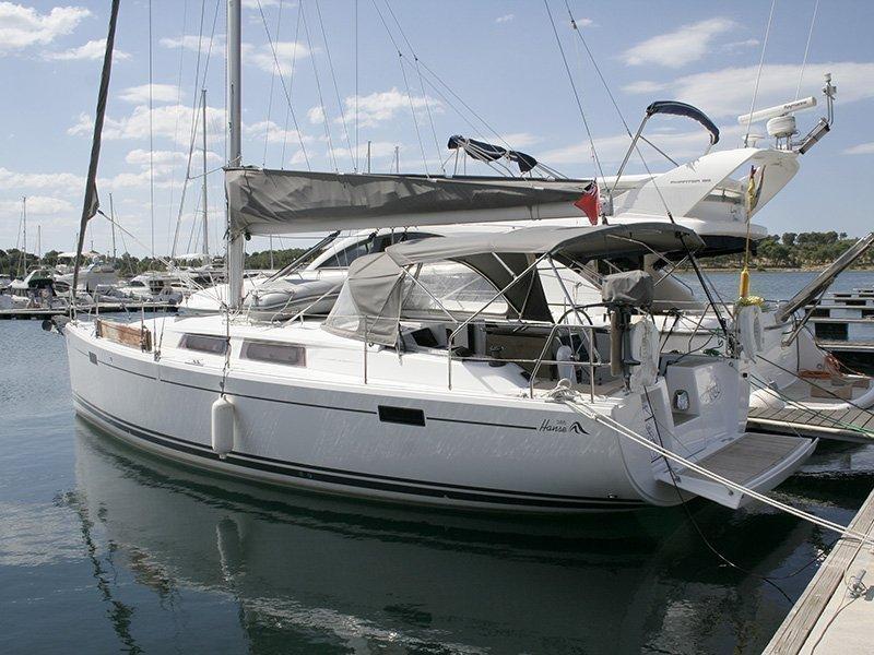 Hanse 385 (Ariel)  - 2
