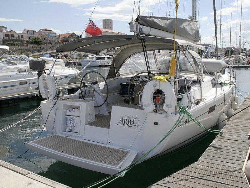 Hanse 385 (Ariel)  - 10