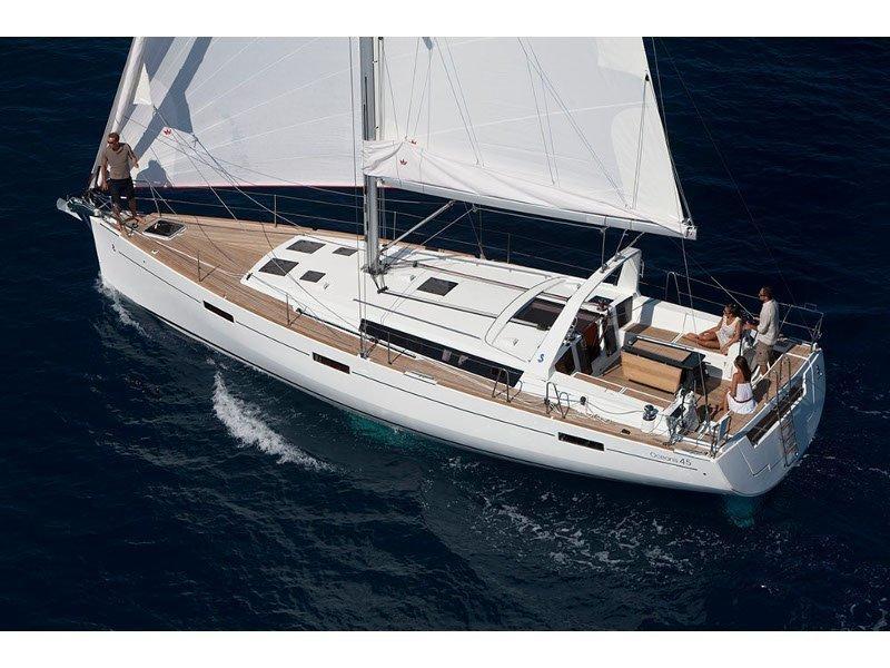 Oceanis 45 (Stefani I) exterior - 12