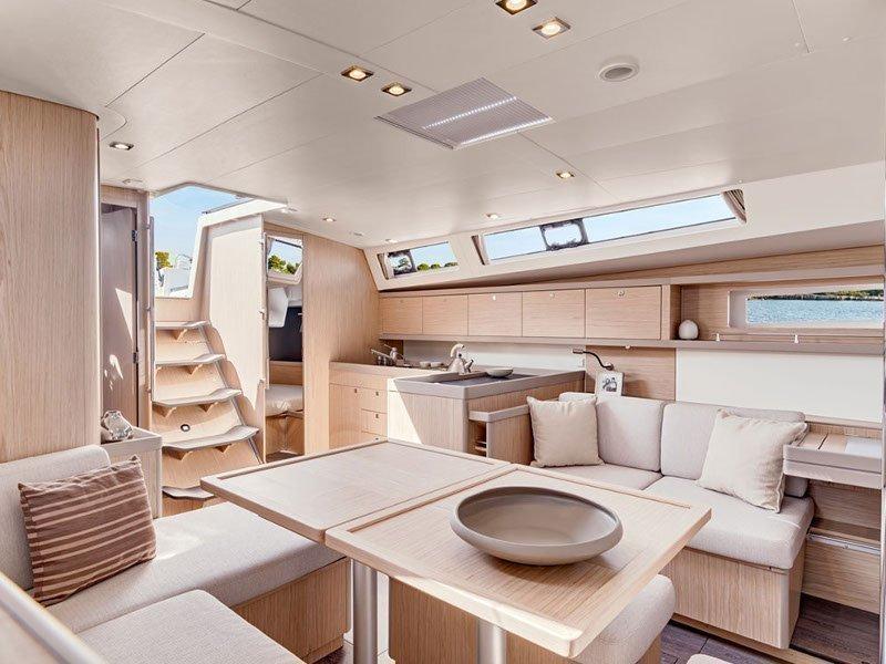 Oceanis 45 (Stefani I) interior - 1