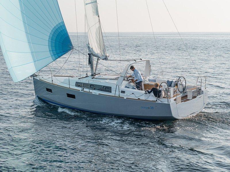 Oceanis 38 (Marica) exterior - 10
