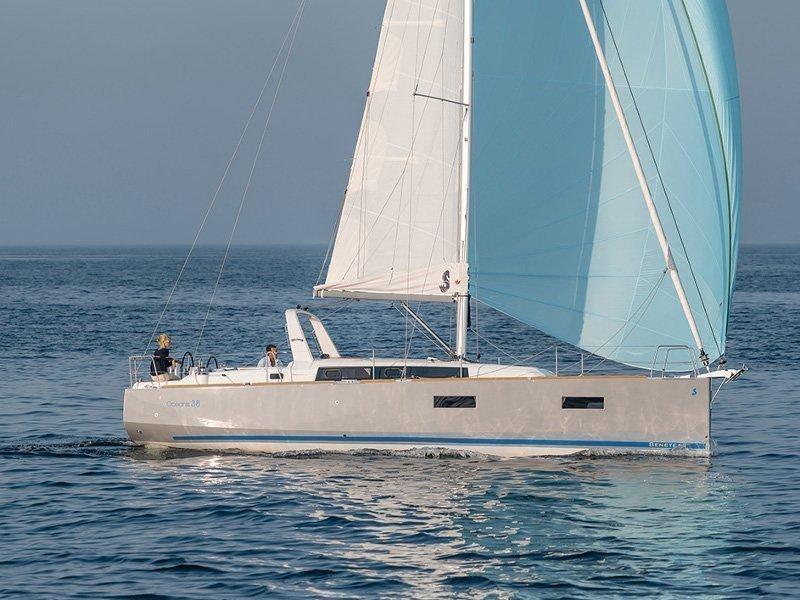 Oceanis 38 (Martine) exterior - 9