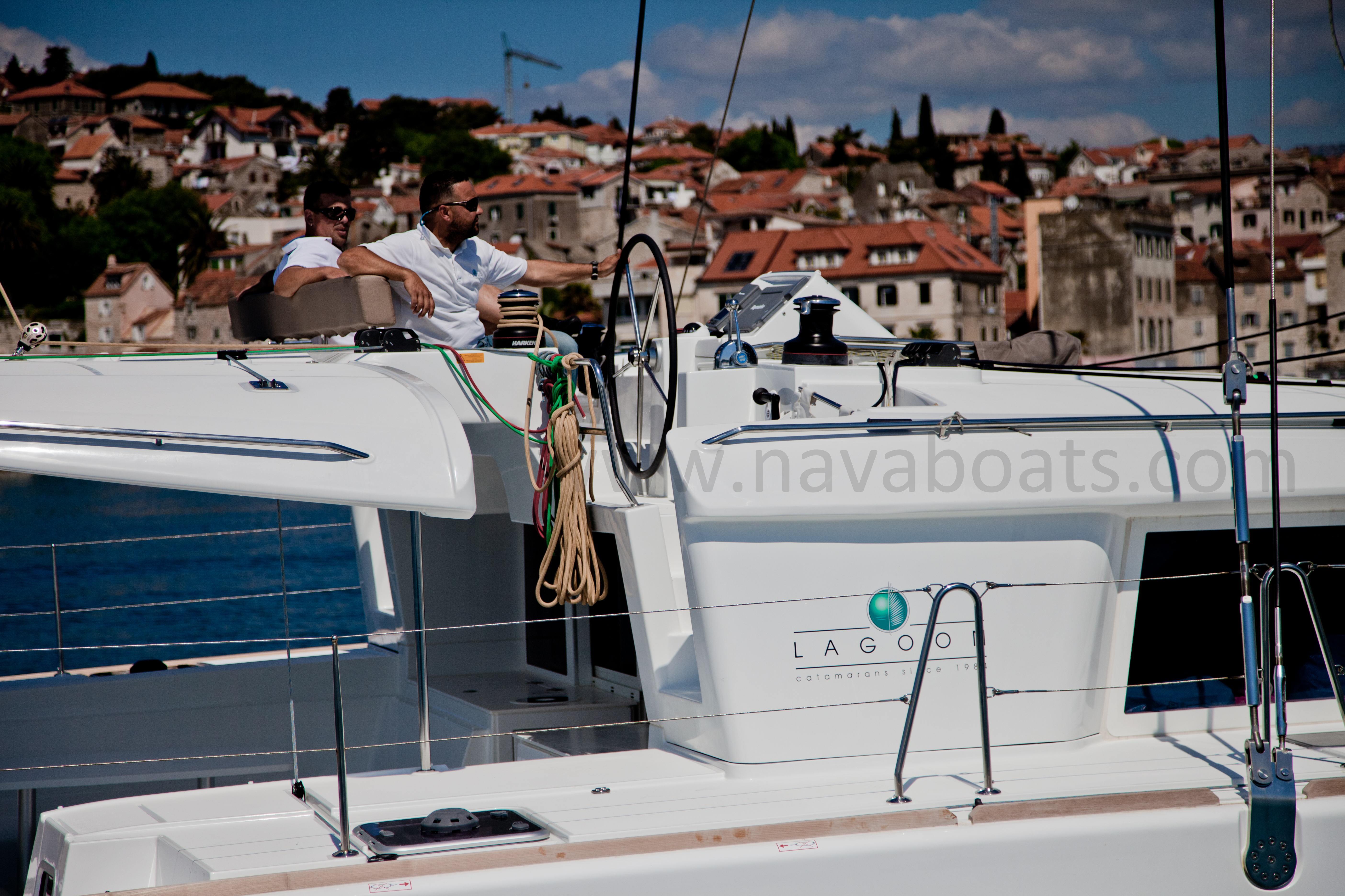 Lagoon 450 (2014) equipped with generator, A/C (sa (MUSTRA I) L 450  - 6
