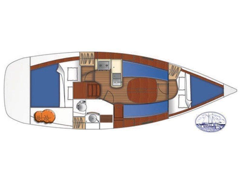 Oceanis 323 (PARALELO) Plan image - 3