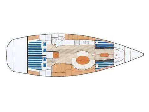 Beneteau First 47.7 (WINDSONG) Plan image - 6