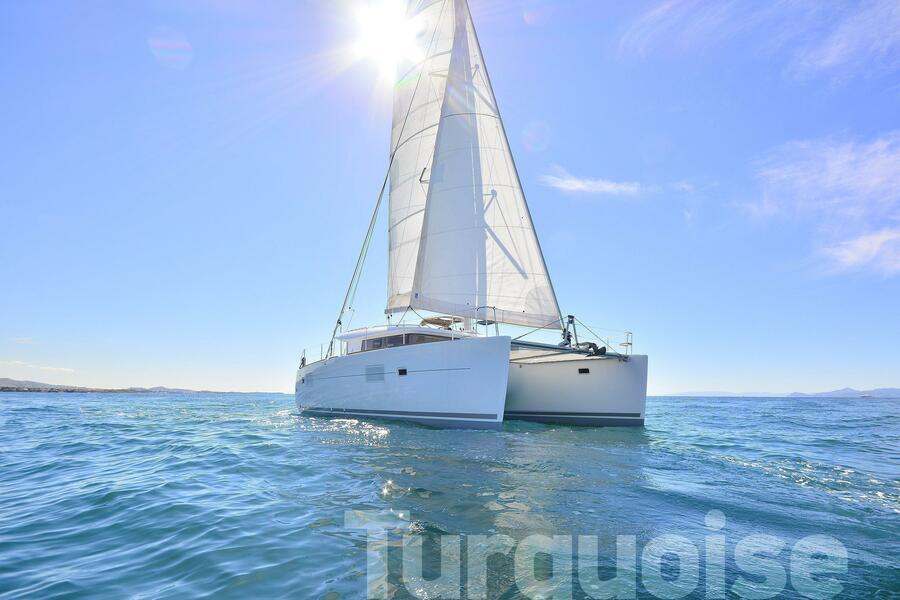 Lagoon 400 S2. (Turquoise)  - 44