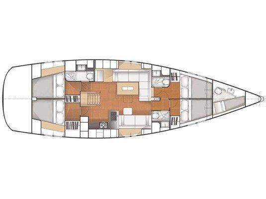 Hanse 575 (Ifestos) Plan image - 27