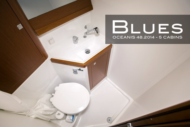 Oceanis 48 (5 cabins) (Blues) Head - 16