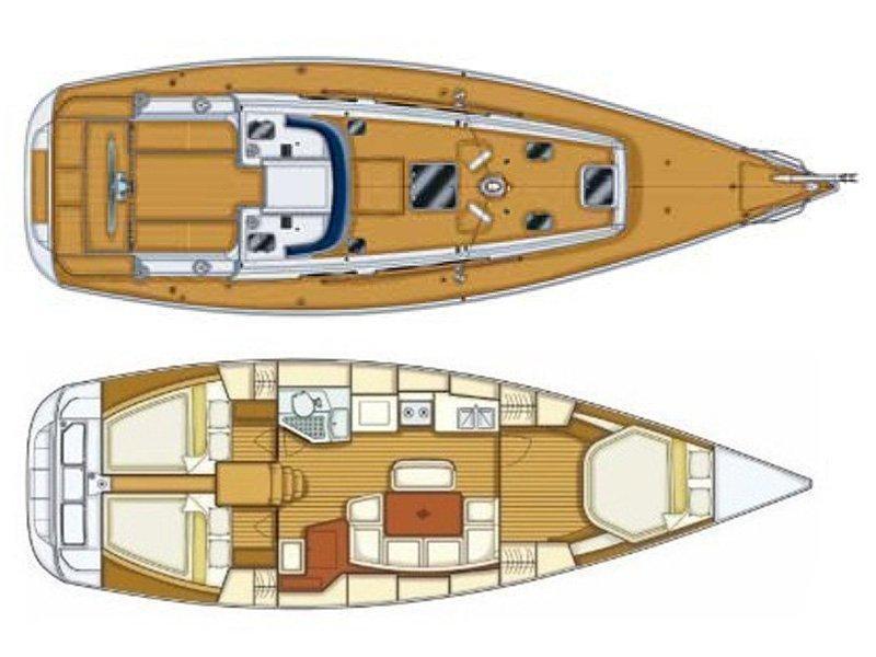Grand Soleil 40 (Šjor (Main sail 2016, Genoa 2018)) Plan image - 1