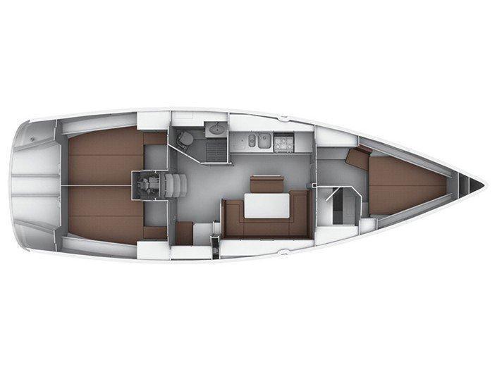 Bavaria  Cruiser 40 (Capitana) Interior image - 13