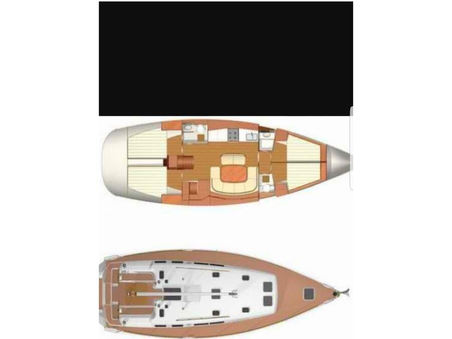 Dufour 455 GL (DufNaf) Plan image - 1