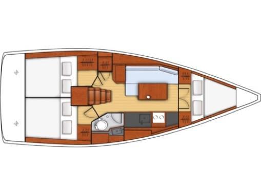 Oceanis 35.1 (Il Moro di Lamezia) Plan image - 13