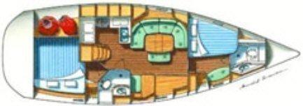 Oceanis 37 (Genie) Plan image - 6