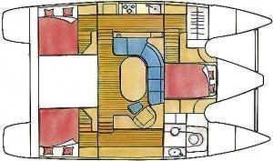 Privilege 37 (SY Salam) Plan image - 0
