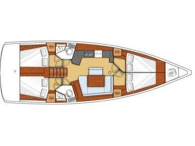 Oceanis 45 (Agiles) Plan image - 5