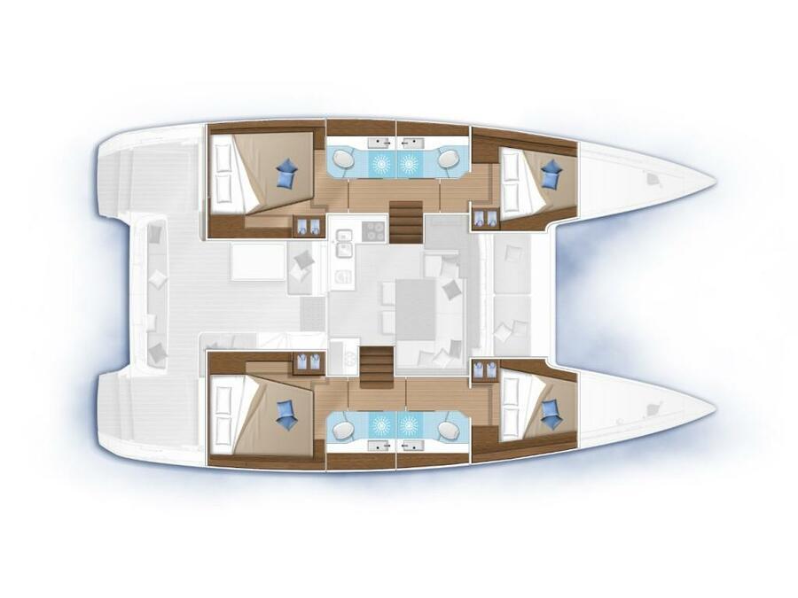 Lagoon 40 (New) Plan image - 1
