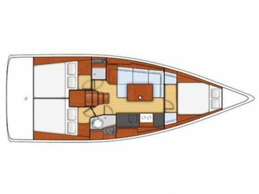 Oceanis 38 (Amaral) Plan image - 17