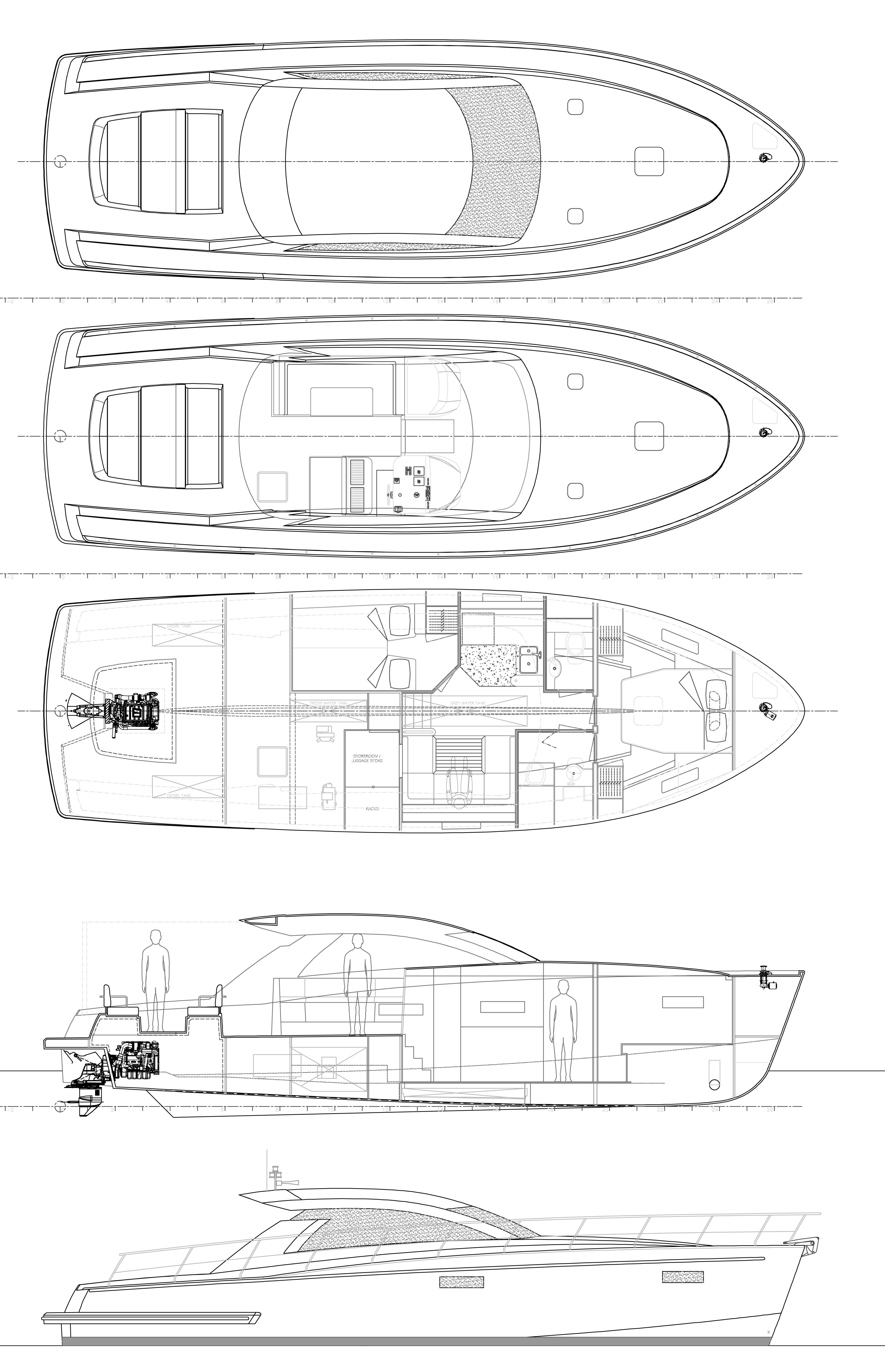 Cyrus 13.8 Hardtop (Punta II) Plan image - 14