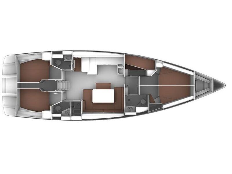 Bavaria Cruiser 51 (Anemone) Plan image - 5