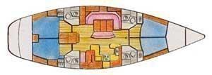 Sun Odyssey 52.2 (Creole Love) Plan image - 9