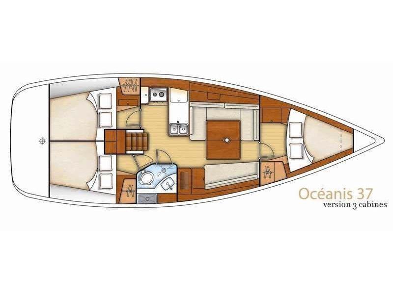 Oceanis 37 (MARINA (low budget monohull!)) Plan image - 5