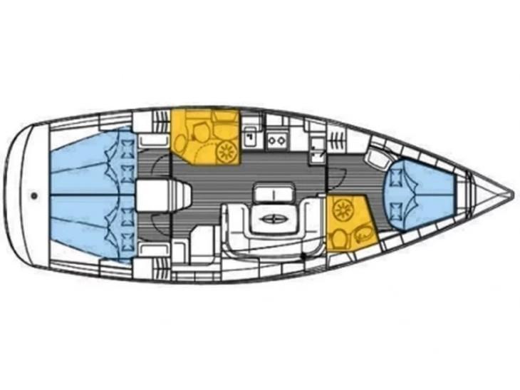 Bavaria 39 Cruiser (Anuschka) Plan image - 14