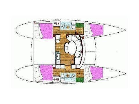 Lagoon 380 S2 (Catcake) Plan image - 28