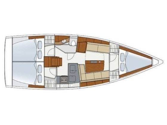 Hanse 345 (Ursa Minor) Plan image - 14