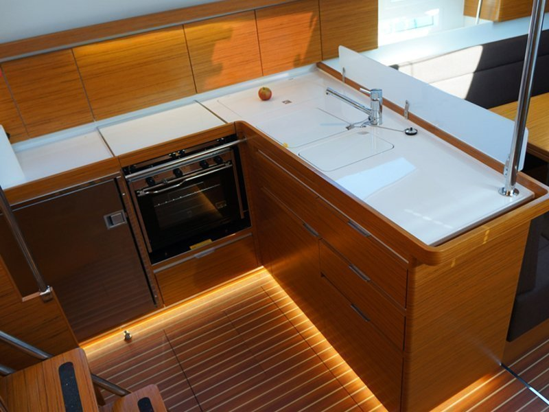 Elan 45 Impression (Thetis) interior - 2
