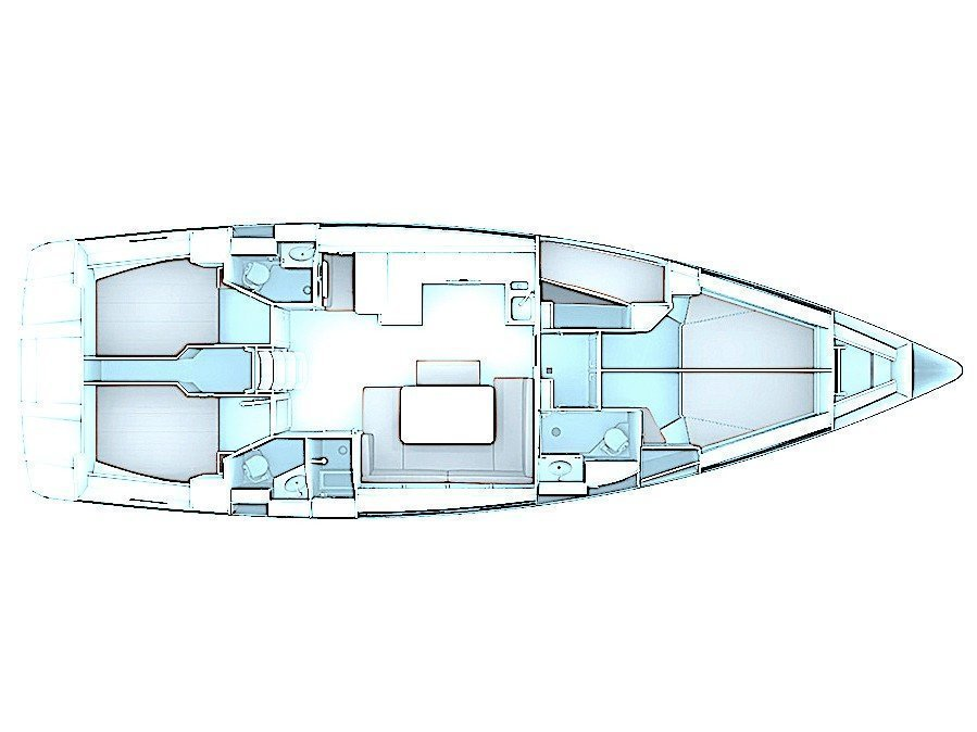 Bavaria Cruiser 51 (Given To Fly) Plan image - 3