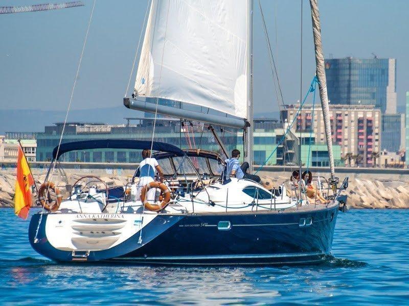 Jeanneau Sun Odyssey 54DS (Anna Katharina) exterior - 6