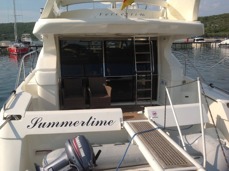 Ferretti 460 (Summertime) exterior - 7