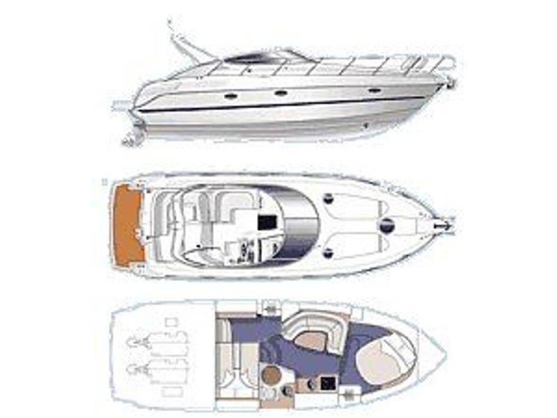Cranchi Zaffiro 34 (Sanmar) Plan image - 3