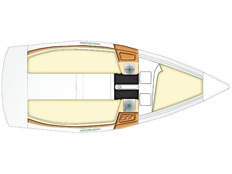 Beneteau First 21.7 (Vidra) Plan image - 7