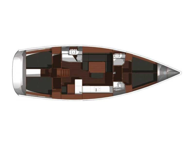 Dufour 450 GL (Tibitoo) Plan image - 40