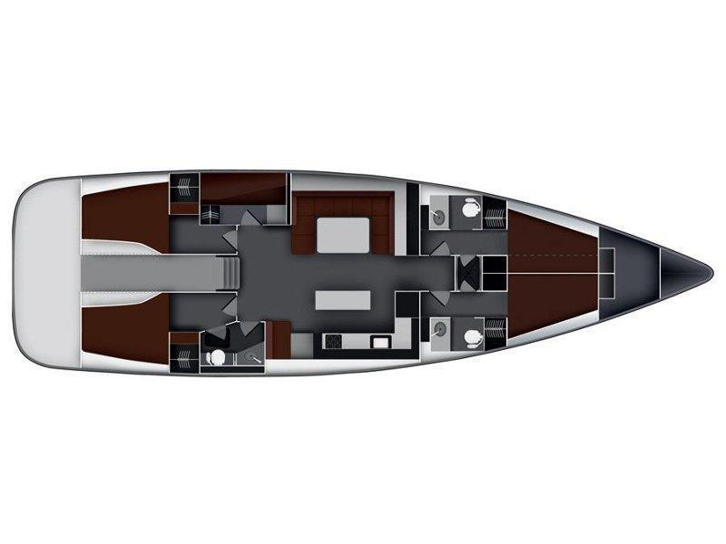 Bavaria 55 Cruiser (Rawa) Plan image - 2