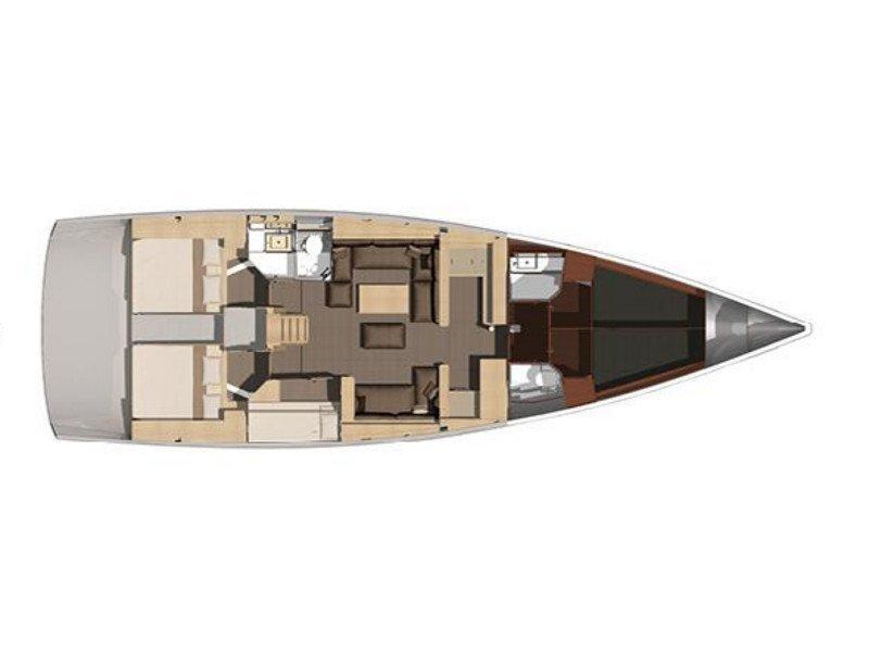 Dufour 560 (Anatoli) Plan image - 79
